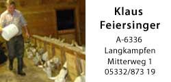 Klaus Feiersinger